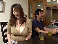 GVH-119 Son-in-law-in-law Aiming For Too Obscene Big Tits Of Mother-in-law