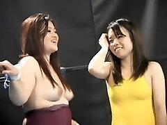 Lesbian tag team grappling APT-03
