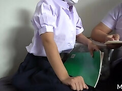 Hooter Ice - ติวหนังสือกับเพื่อน (Thai Nubile with Pal)