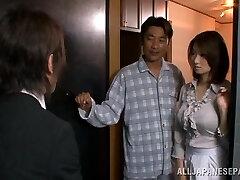 Mio Takahashi lovely Japanese model is hooked on fuckfest