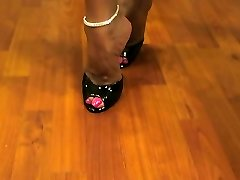 Hot Wifey Asia Steamy Legs and High Heels