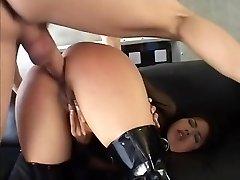 Awesome porn industry star Dana Vispoli in amazing bdsm, cumshots porn clip