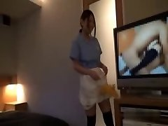 Asian Hotel Maid Getting Ravaged