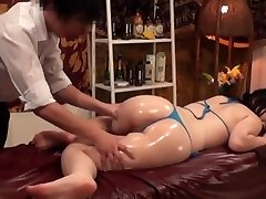 Slimming Massage for Huge-chested Japanese Wives - 2