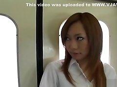 Ultra-kinky Japanese breezy in Crazy Creampie, Blowjob JAV clip