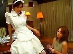 Exotic inexperienced Fetish, Maid porn movie