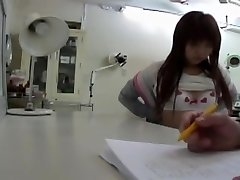 Doctor.s electro-hitachi made this Japanese babe get an orgasm