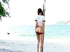 Impressive Softcore clamp with Beach,Straight scenes