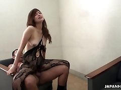 Farmer dame jerks and sucks her uncle