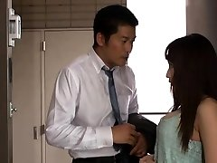 Enticing Japanese milf Kaho Kasumi gives gonzo dt