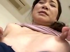 Skinny asian with monstrous nipples