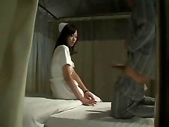 Hot Japanese Nurse Humps Patient