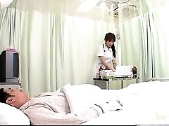 Super-naughty JPN nurse doing body check-up to this part1