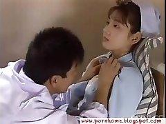 Asian Nurse fucked by medic