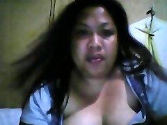 Filipino ugly big fatty super-bitch show boobs