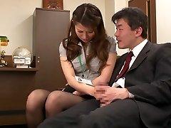 Nao Yoshizaki in Sex Sub Office Lady part 1.2