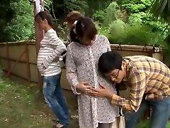 Fabulous Asian hoe Hinata Komine, Kyouko Maki in Finest Public JAV clip