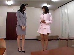 japanese secretary pantyhose