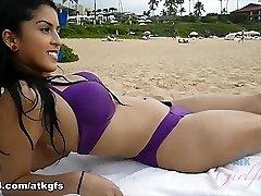 Sophia Leone in Virtual Vaca Flick - ATKGirlfriends