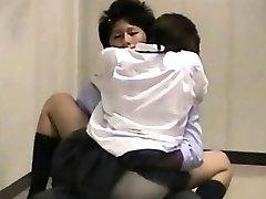 School Campus Upstairs Spycam Sex Couples
