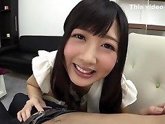 Hottest Japanese fuckslut Hibiki Otsuki in Incredible handjobs, rimming JAV pinch