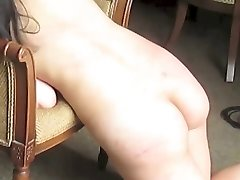 Flogging & Lashing an Unexperienced Japanese M