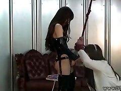 Chinese Femdom Emiru BDSM Strapon Fucking