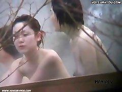 Hot spring voyeured body unveil