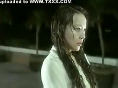 Hong Kong video nude in the swimming pool vignette
