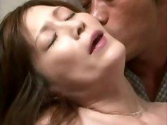 Nasty Asian mom seduces a friend son