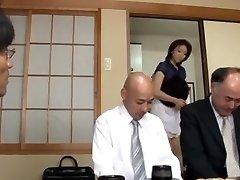 Amazing Japanese girl Emiko Koike in Exotic Three-ways JAV scene