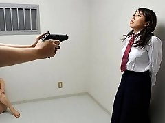 Yui Saejima in Nude babes are toying rough games in the prison - AviDolz