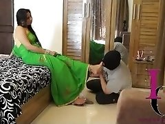 Indian Domina Foot Slave