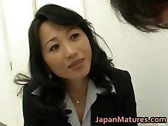 Natsumi Kitahara ass eats her stud part6