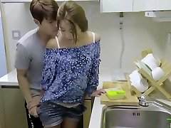korean erotic collection hot romantic kitchen ravage with sex toy