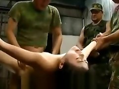 Grasped japanese women abused and gangbanged by soldiers