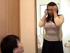 Frolicking With My Widow Stepmom... Yumi Kazama