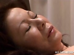 Chizuru Iwasaki hot mature Asian chick is fucked rigid