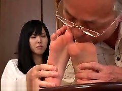Korea feet worship