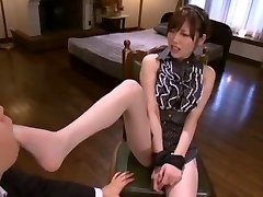 Best Japanese girl Rico Yamaguchi in Exotic Sole Fetish, Tights/Pansuto JAV video