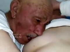 Senior man fuck grandma