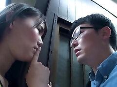 fabulosa cena pornográfica asiática incrível, cuidado