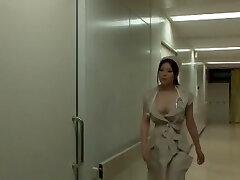 Incredible Japanese chick Yuna Shiina in Extraordinaire Nurse, Big Titties JAV scene