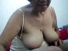 Filipino grandma 66 pleasuring me on cam