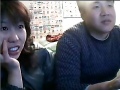 Chinese Couple Sex Life before Web Cam