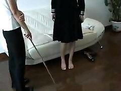 bastinado korean girl