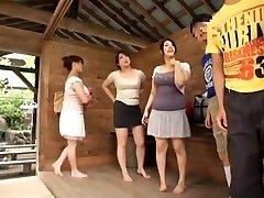 Greatest Japanese girl Sumire Shiratori, Hitomi Yuki, Reina Nakama in Greatest Compilation, Outdoor JAV movie