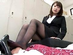 Japanese Girl Foot Fetish - NFDM-408 B