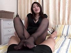 Crazy Japanese girl in Hottest Foot Fetish, HD JAV clip