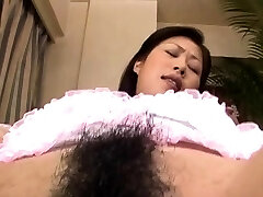 Excited hoe gets her moist pussy thoroughly examined